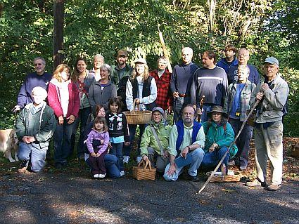 RAMA members group photo at foray